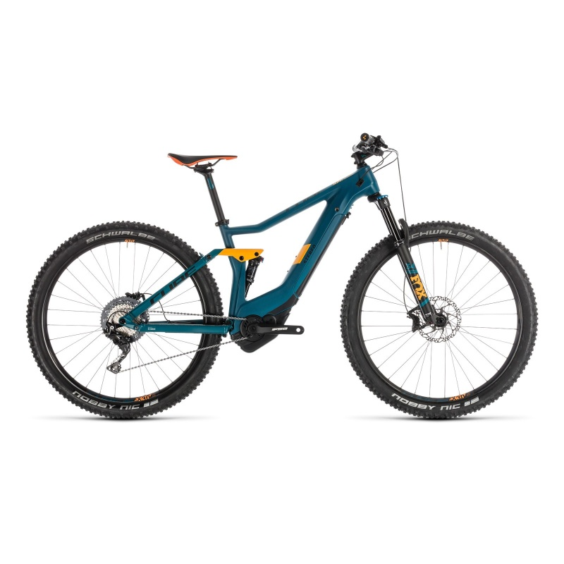 "VTT Electrique 29"" Cube Stereo Hybrid 120 HPC SL 500 Pinetree/Orange 2019 (235260)"