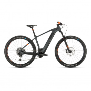 "Cube 2021 VTT Electrique 29"" Cube Elite Hybrid C:62 Race 625 Gris/Orange 2021  (434502)"