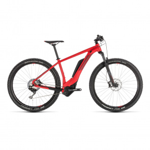 "Cube - Promo VTT Electrique 27.5"" Cube Reaction Hybrid Race 500 Rouge 2019 (234160)"