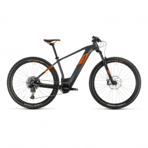 "Cube 2020 VTT Electrique 29"" Cube Reaction Hybrid SL 625 Gris/Orange 2020 (334352)"