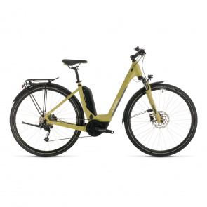 Cube 2020 Cube Touring Hybrid One 400 Easy Entry Elektrische Fiets Groen/Wit 2020 (331060)
