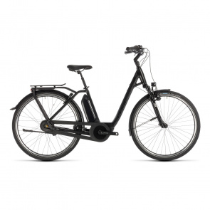 Cube - Promo Cube Town Hybrid EXC 500 Easy Entry Elektrische Fiets Black Edition 2019 (232201)