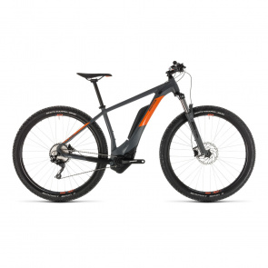 "VTT Electrique 27.5"" Cube Reaction Hybrid Pro 500 Gris/Orange 2019 (234111)"
