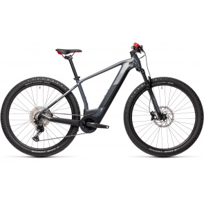 "Cube 2021 VTT Electrique 29"" Cube Reaction Hybrid Race 625 Gris/Rouge 2021 (434202)"
