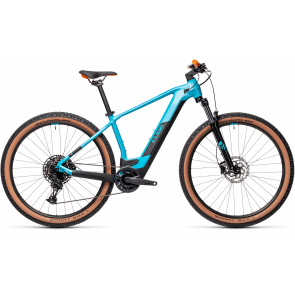 "Cube 2021 VTT Electrique 29"" Cube Reaction Hybrid Pro 625 Pétrole/Orange 2021 (434122)"