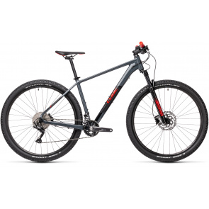 "Cube 2021 VTT 27.5"" Cube Attention Gris/Rouge 2021 (403100)"