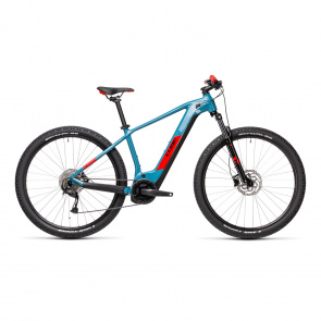 "Cube 2021 VTT Electrique 29"" Cube Reaction Hybrid Performance 500 Bleu/Rouge 2021 (433121)"