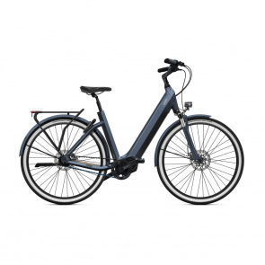 O2feel Vélo Electrique O2feel iSwan City Boost 7.1 432 Easy Entry Gris Anthracite 2022  (5103)